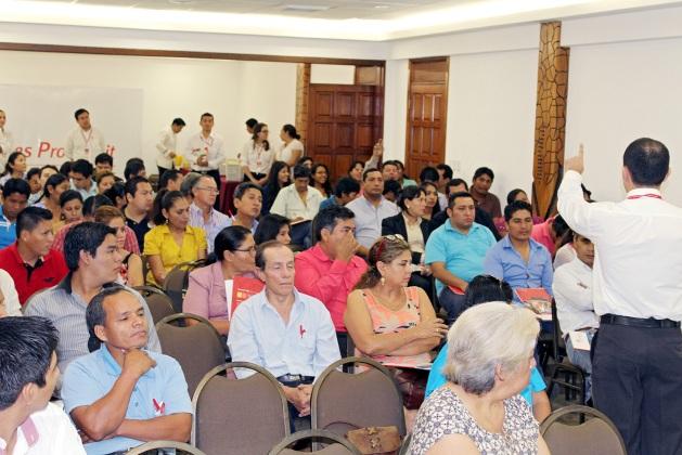 Banco Los Andes capacitación grupo2