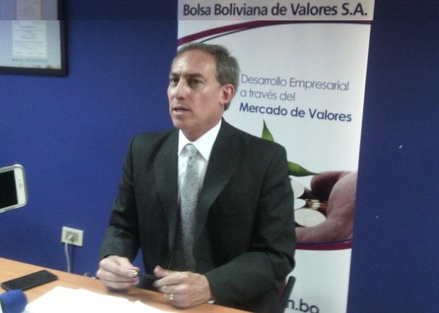 Bolsa Boliviana de Valores, Javier Aneiva
