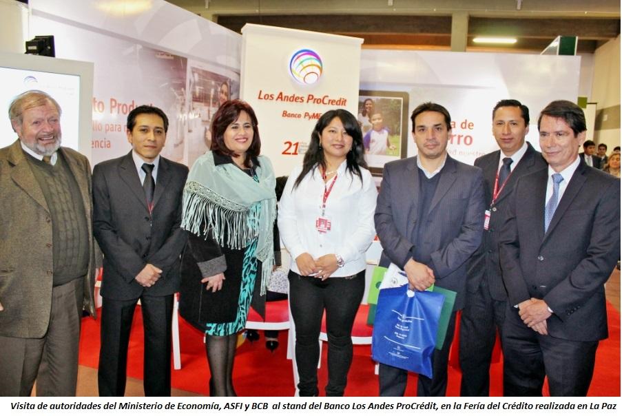 Foto Banco Los Andes Feria Crédito
